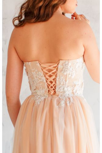 Свадебное платье на корсете в Киеве - Фото 3