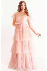 Вечернее платье бохо фото