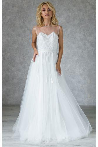 Свадебное платье с бисером в Киеве - Фото 1