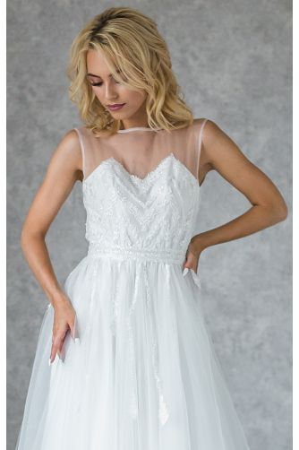 Свадебное платье с бисером в Киеве - Фото 3