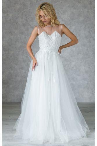 Свадебное платье с бисером в Киеве - Фото 2