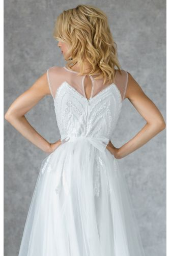 Свадебное платье с бисером в Киеве - Фото 5