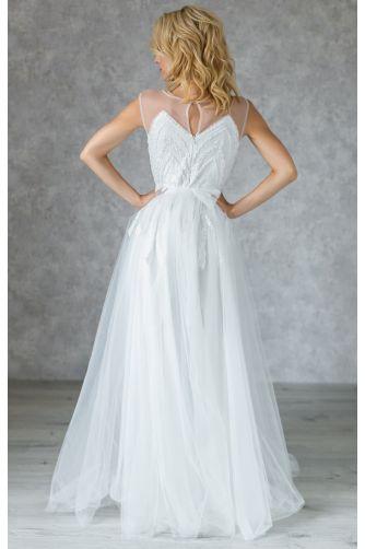 Свадебное платье с бисером в Киеве - Фото 4
