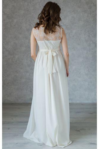 Свадебное платье с кружевом для беременных в Киеве - Фото 3