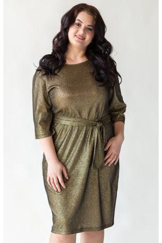 Блестящее платье для полных в Киеве - Фото 1