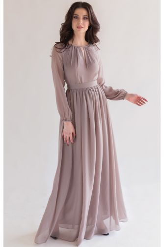Элегантное платье с длинным рукавом в Киеве - Фото 1