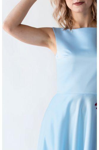 Голубое платье на выпускной в Киеве - Фото 2