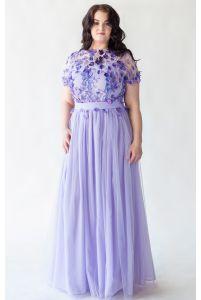 Необычное платье для полных фото
