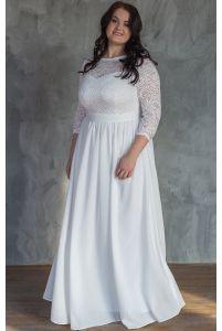 Платье на роспись для полных фото