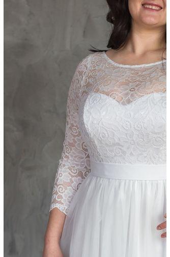 Пышное свадебное платье для полных в Киеве - Фото 2
