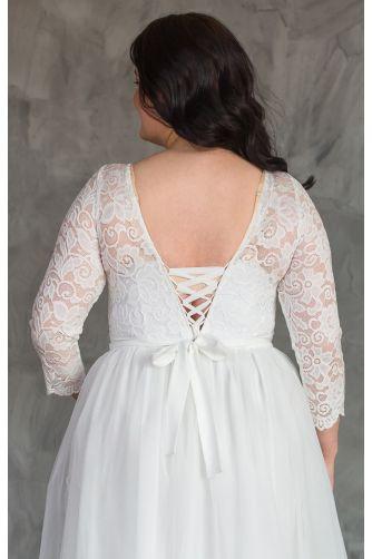 Пышное свадебное платье для полных в Киеве - Фото 3