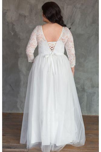 Пышное свадебное платье для полных в Киеве - Фото 4