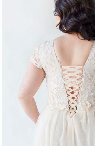 Шикарное свадебное платье для полных в Киеве - Фото 3