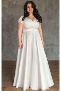 Свадебное платье для полных фото