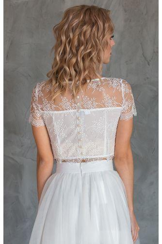 Свадебное платье комплект с юбкой солнце в Киеве - Фото 3