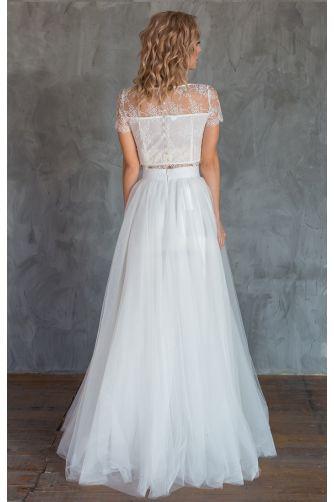 Свадебное платье комплект с юбкой солнце в Киеве - Фото 4