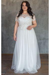 Свадебное платье корсет большого размера фото
