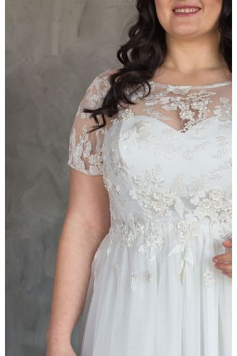 Свадебное платье корсет большого размера в Киеве - Фото 3