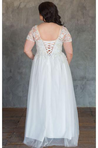 Свадебное платье корсет большого размера в Киеве - Фото 2