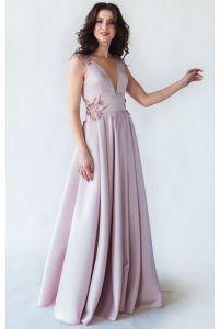 Выпускное платье с открытой спиной фото