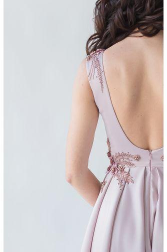 Выпускное платье с открытой спиной в Киеве - Фото 4