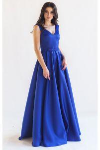 Яркое платье на выпускной фото