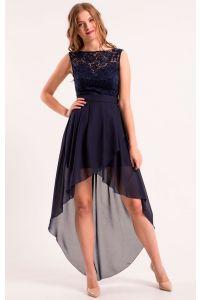 Коктейльное платье длинное фото