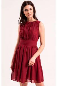 Коктейльное платье марсала фото