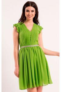 Нежное коктейльное платье фото