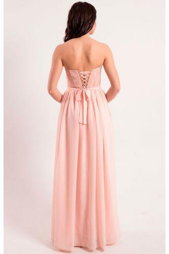Нежно розовое платье на корсете в Киеве - Фото 5