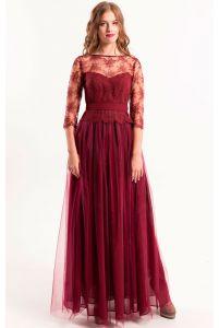 Платье кружевное вечернее фото