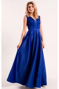 Платье с глубоким декольте фото