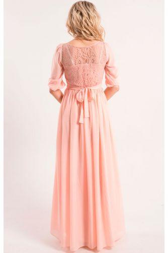 Розовое вечернее платье в Киеве - Фото 2