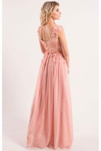 Шикарное вечернее платье с открытой спиной купить в Киеве - цена ... 0080e18e6c7