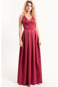 Вечернее платье с декольте фото