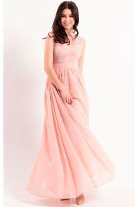 Вечернее платье с шифоновой юбкой фото