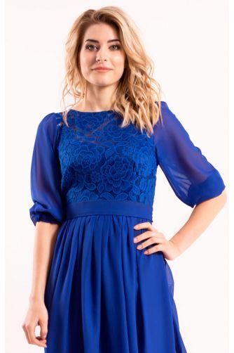 Платье длинное закрытое синее в Киеве - Фото 2