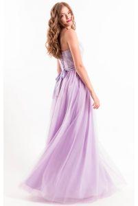 Сиреневое платье на выпускной фото