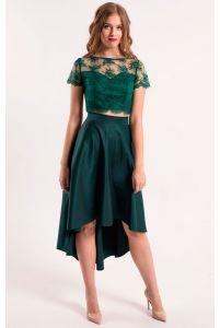 Асимметричная стильная юбка фото