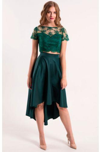 Асимметричная стильная юбка в Киеве - Фото 1