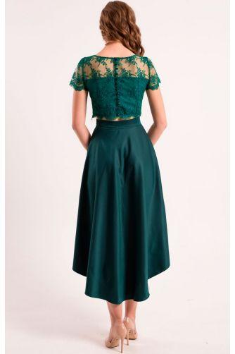 Асимметричная стильная юбка в Киеве - Фото 3
