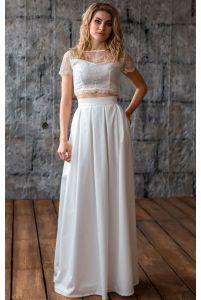 Стильная свадебная юбка фото