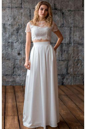 Стильная свадебная юбка в Киеве - Фото 1