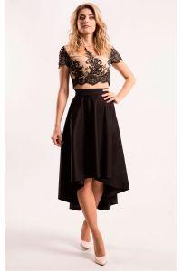 Стильная юбка асимметрия фото