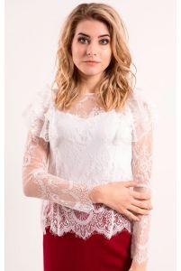 Красивая блуза кружевная фото