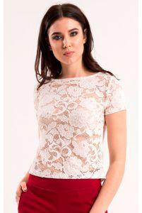 Кружевная блуза женская фото