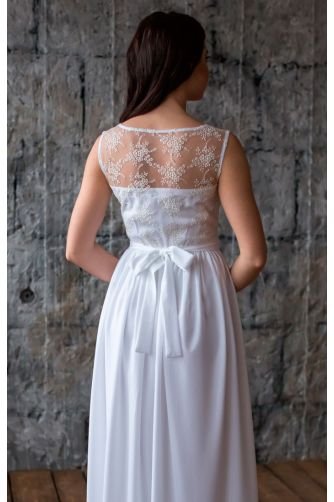 Легкое свадебное платье в Киеве - Фото 3