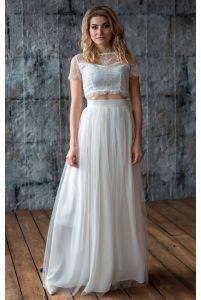 Необычное свадебное платье фото