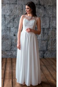 Нежное свадебное платье фото