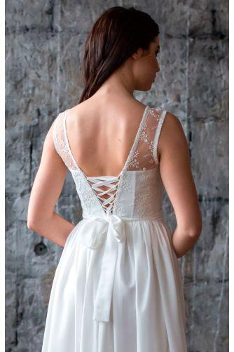 Нежное свадебное платье в Киеве - Фото 3